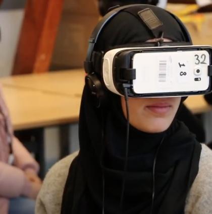 Sfeerimpressie VR-project De herkansing
